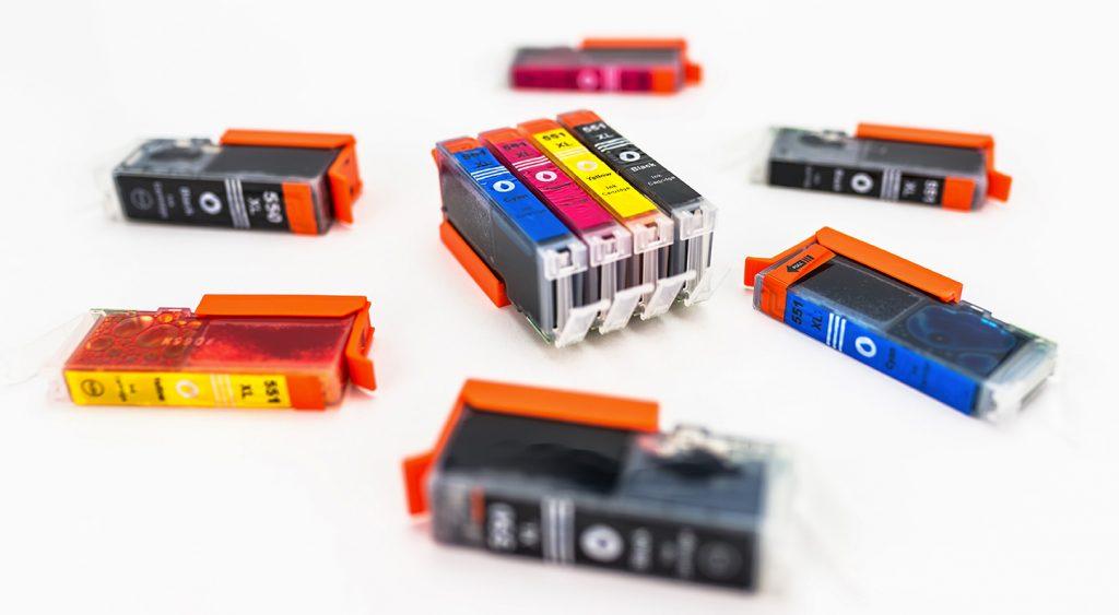 cartouches d'encre de couleur